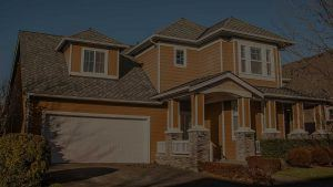House With Shingles Roofing
