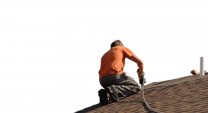 Man Repair Roof