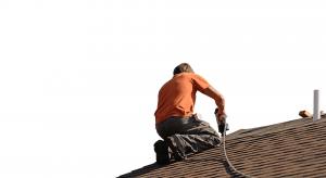 Man Repair Roof