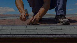 Man Fixing Roof