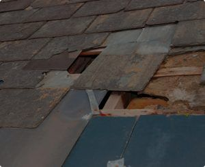 Roof Water Damage